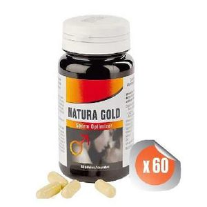SOIN STIMULANT SEXUEL Natura Gold Massive Sperm Optimizer