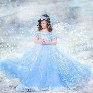 DÉGUISEMENT - PANOPLIE Costume de Reine des Neiges Petite Filles Princess