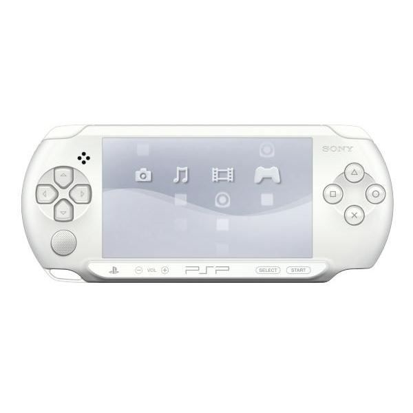 CONSOLE PSP PSP STREET BLANCHE