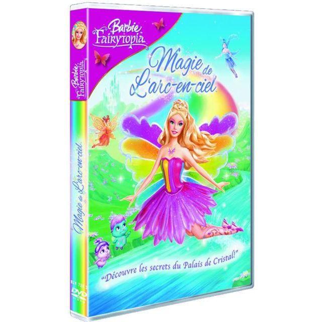 DVD DESSIN ANIMÉ DVD Barbie fayritopia : la magie de l'arc en ciel