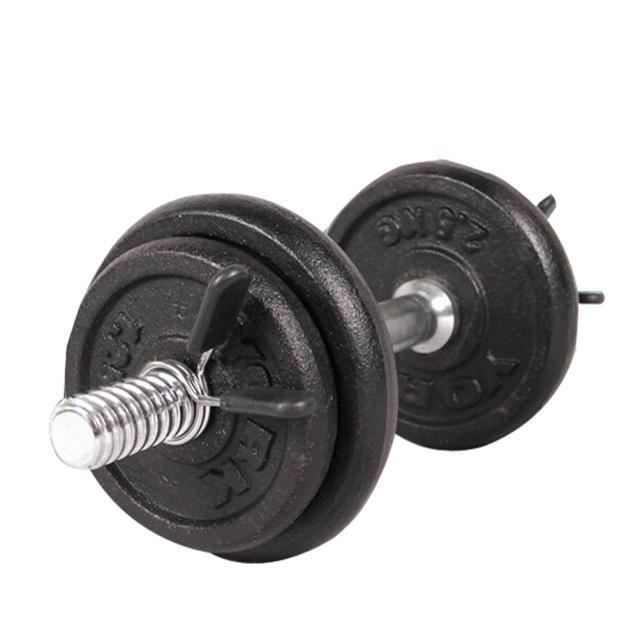 Yoga et fitness 2Pcs 25mm Barbell Gym Barre de Poids Haltère Verrouillage Pince Ressort Collier Clips h03