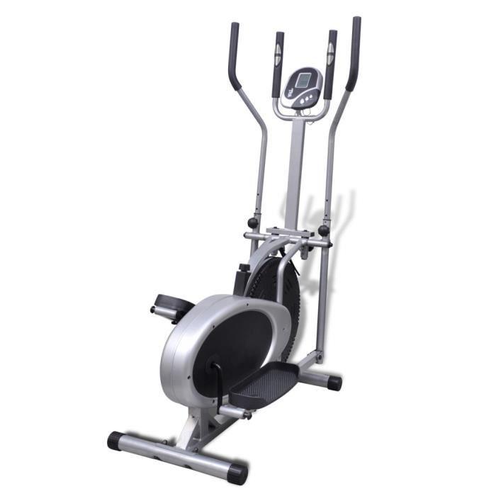Vélo elliptique résistance réglages
