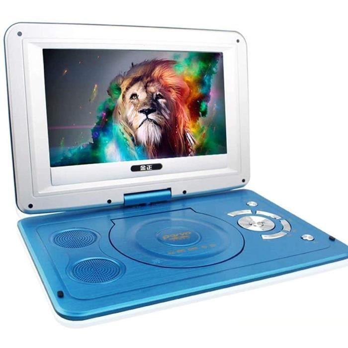LECTEUR DVD PORTABLE Lecteur DVD Portable De 14 Pouces, &Eacutecran Rotatif HD Num&eacuterique Domestique Smart TV Evd Lecte163