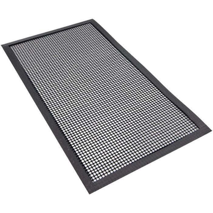 CACHE PLAQUE DE CUISINE Ilsa Tapis de protection rectangulaire pour plaque agrave induction 44 x 24 cm avec bords renforceacutes417