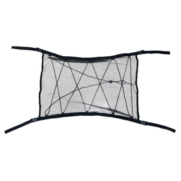 Rangement,Filet de rangement universel pour plafond de voiture, filet de rangement pour intérieur, toit de voiture - Type 2 black