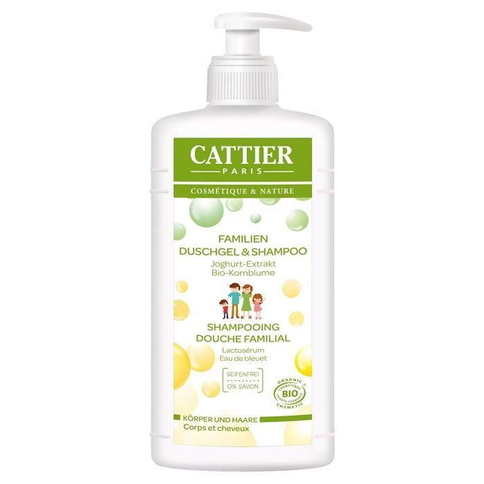 CATTIER Paris: Familien Duschgel & Shampoo (500 ml) - 912921