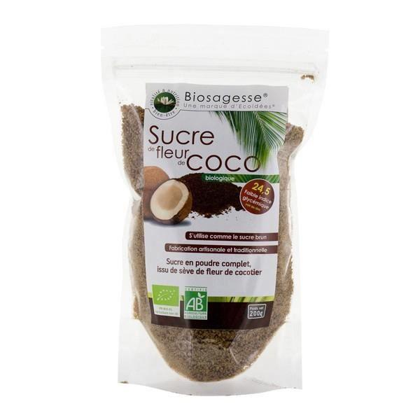 Sucre de sève de Fleur de coco en poudre BIO -500g