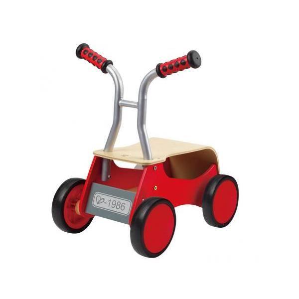 Hape - E0374 - Petite trottinette rouge