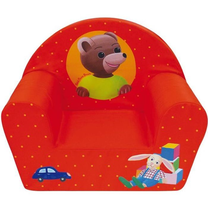 PETIT OURS BRUN Fauteuil Club