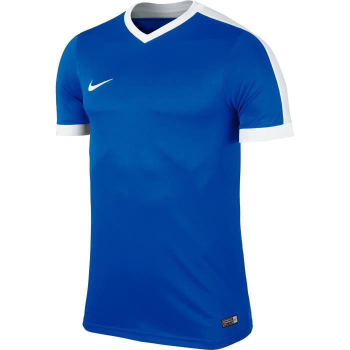 Maillot Nike Striker IV enfant Manches courtes Bleu/blanc