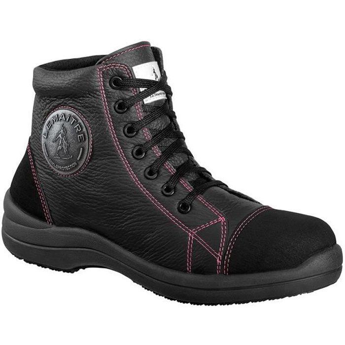 LEMAÎTRE PARABOLIGHT Chaussures de sécurité haute femme Libert'In S3 SRC noir