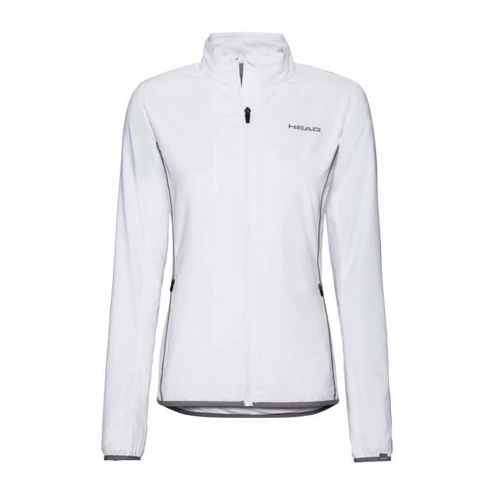Head - Club Femmes Veste de tennis (blanc) - XS