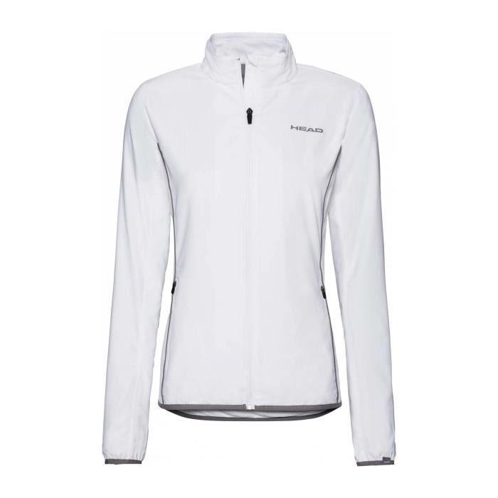 Head - Club Femmes Veste de tennis (blanc) - XS