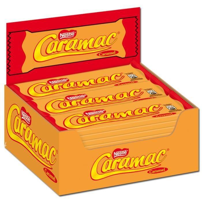 Nestlé Caramac Caramel, bars, chocolat, 36 barres