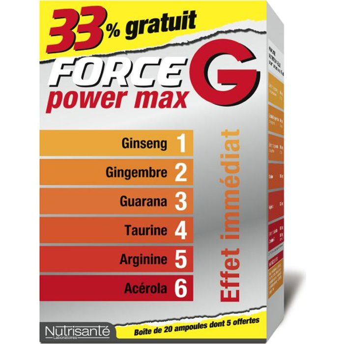 Lot force g power max