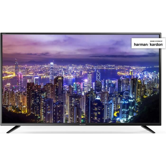 Sharp lc55cug8052e tv led uhd4k 139cm 55 smart tv 3 x hdmi classe énergétique a