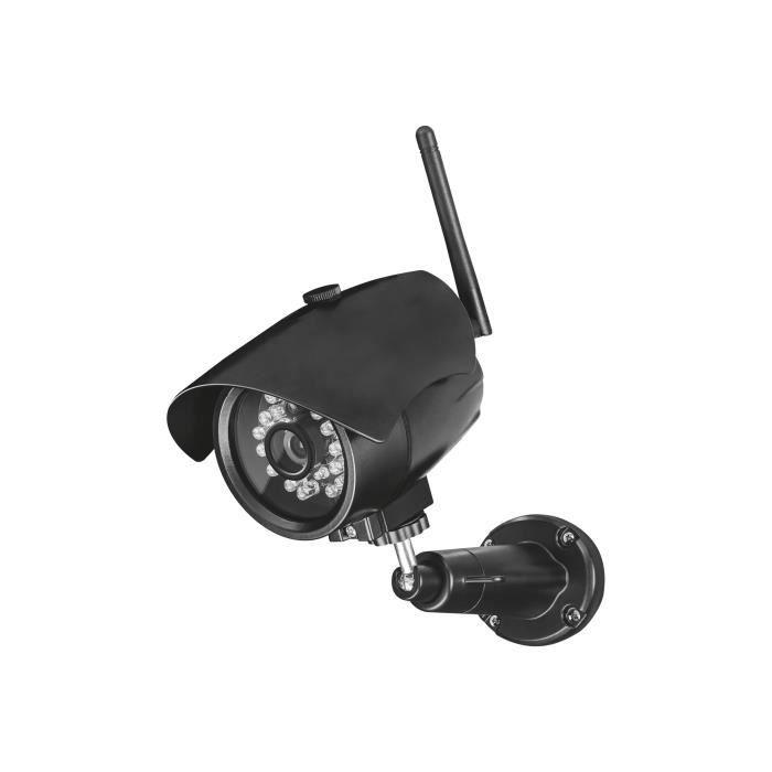 Trust SMART Home IPCam-3000 Caméra de surveillance réseau extérieur, intérieur Etanche couleur (Jour et nuit) sans fil Wi-Fi WiFi