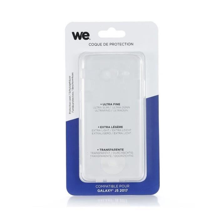 WE Coque de protection pour Samsung Galaxy J5 en TPU semi rigide