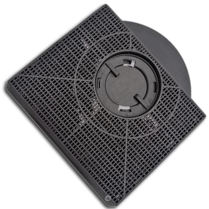 Filtre charbon rectangulaire FAT303 type 303 (à l'unité) (46581-465) - Hotte - WHIRLPOOL, SCHOLTES, IKEA WHIRLPOOL, FAGOR, FAURE,