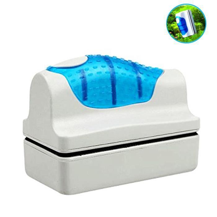 Yakamoz Brosse Magnétique de Nettoyage de Glass Nettoyeur Aimant de Verre Grattoir Nettoyage Pour Aquarium Fish Tank Taille S