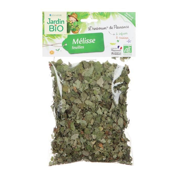 JARDIN BIO Mélisse feuilles bio - 25 g