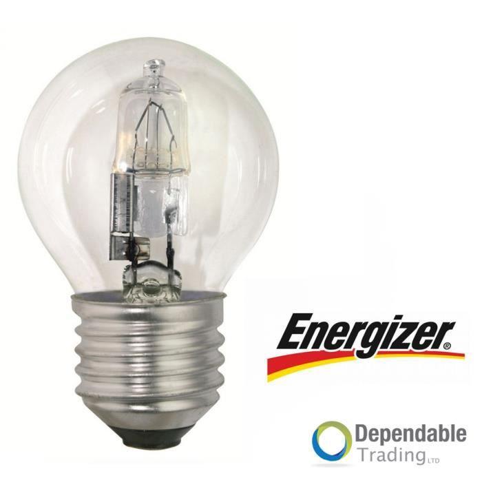 AMPOULE - LED Lot de 10 -ENERGIZER 42W = 60w ES (E27) Ampoule Cl