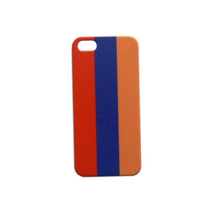 coque pour iphone 5 drapeau armenie film prot