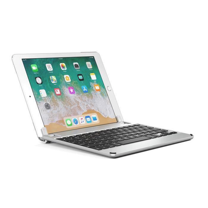9,7/Space Gris Bryde 19962499548/Aluminium Clavier Bluetooth pour Apple iPad iPad Pro 2017 Air 1/et 2