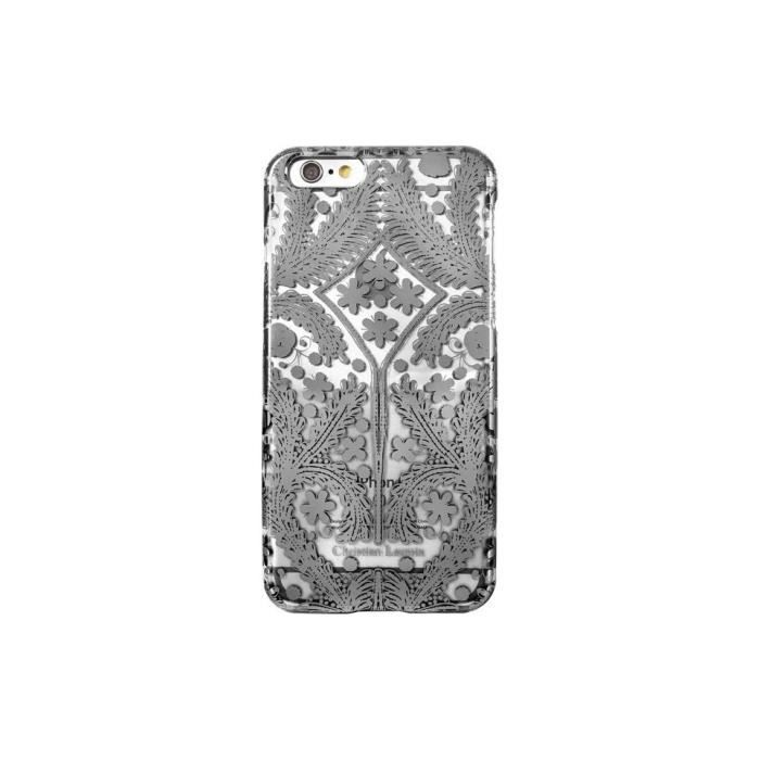 coque iphone 6 6s christian lacroix paseo argent