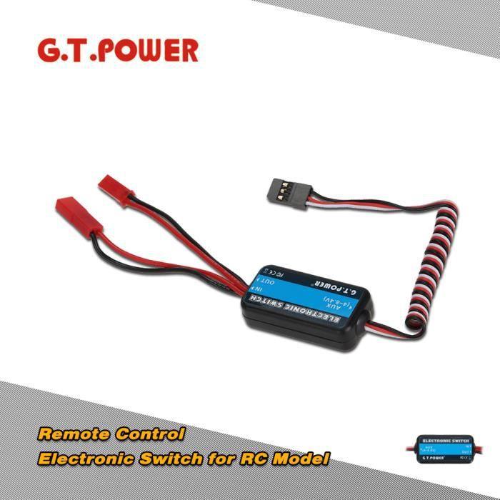 G.T.POWER interrupteur électronique pour avion RC hélicoptère voiture