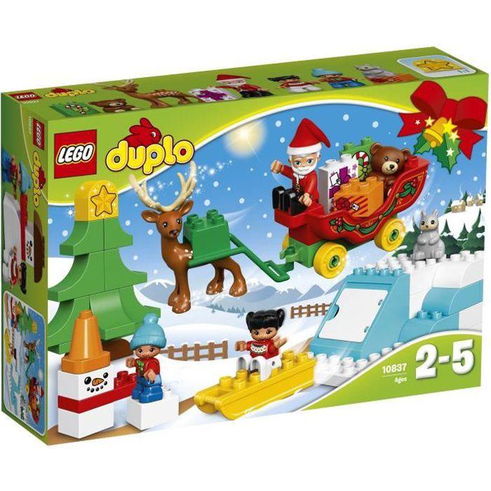 ASSEMBLAGE CONSTRUCTION LEGO® DUPLO 10837 Les Vacances d'Hiver du Père Noë