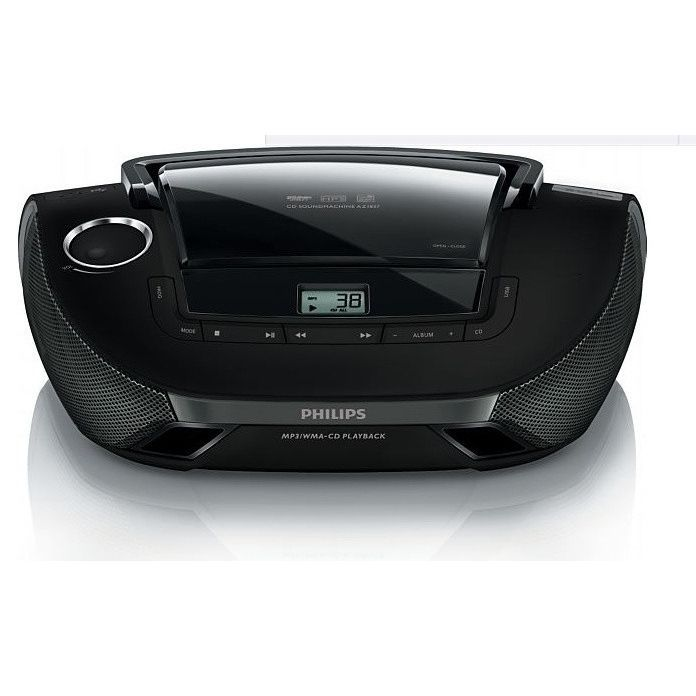 philips az1837 lecteur de cd usb radio cd cassette. Black Bedroom Furniture Sets. Home Design Ideas