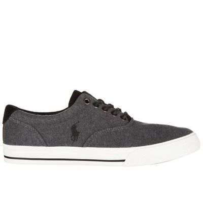Baskets Ralph Chaussures En Vaughn Polo Homme Coton Sneakers Lauren Zx0vxd