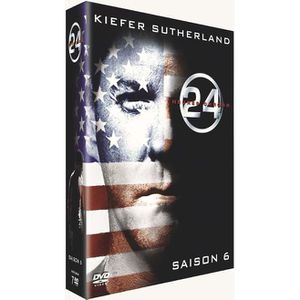DVD SÉRIE DVD 24 heures chrono, saison 6