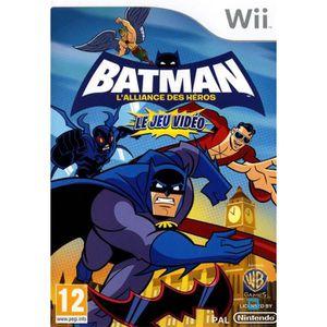 JEU WII BATMAN L'ALLIANCE DES HEROS / Jeu console Wii.