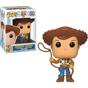 FIGURINE DE JEU Figurine Funko Pop! Disney :  Toy Story 4 - Woody