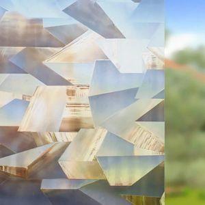 FILM POUR VITRAGE Film pour Vitre 3D Décoratif Film Electrostatique