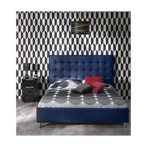tete de lit simili cuir 160 achat vente tete de lit simili cuir 160 pas cher cdiscount. Black Bedroom Furniture Sets. Home Design Ideas