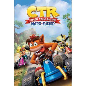 DRAPEAU DÉCORATIF Crash Bandicoot Crash Team Racing - Nitro Fueled P