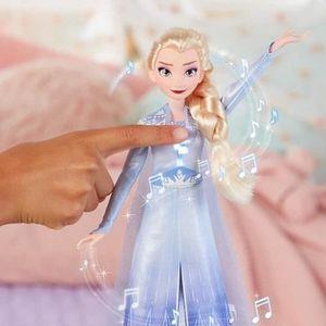 POUPÉE Poupée chantante Elsa 27 cm - Disney La Reine des