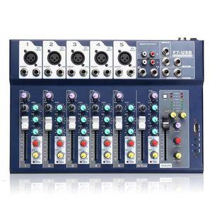 TABLE DE MIXAGE TEMPSATable de Mixage USB Audio Studio 7 Canaux P