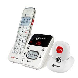 Téléphone fixe GEEMARC Téléphone sans fil grosses touches sénior