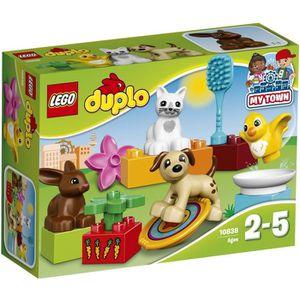 ASSEMBLAGE CONSTRUCTION LEGO® DUPLO® 10838 Les Animaux de Compagnie