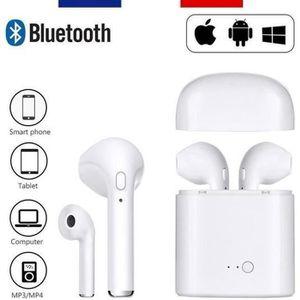 KIT BLUETOOTH TÉLÉPHONE HBQ I7S TWS Écouteurs Bluetooth, Casque sans Fil S