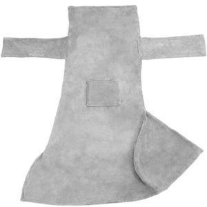 COUVERTURE - PLAID TECTAKE Plaid Canapé avec manches doux - Polyester