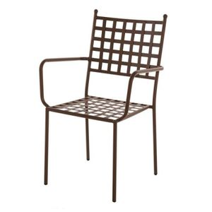 SALON DE JARDIN  chaise de jardin Quatuor de Chaises à accoudoirs e