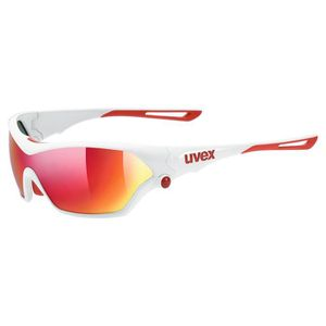 Uvex sport style 222 pola vélo Lunettes Blanc//Mirror jaune