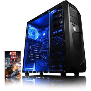 UNITÉ CENTRALE  VIBOX Theta 4 PC Gamer Ordinateur avec War Thunder
