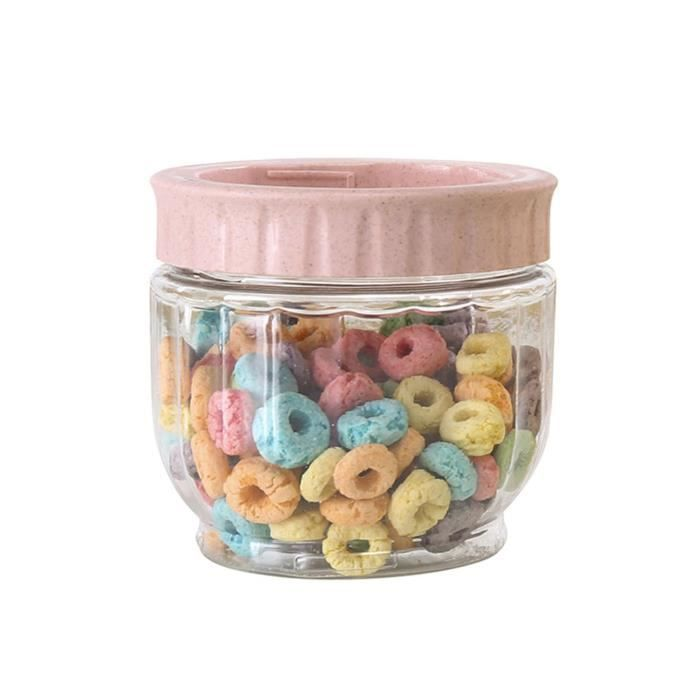 Kitchen Grains Snacks Sealed Jar Plastic Transparent Household Storage Tank SLXQ201209106PK_MexiGoTo