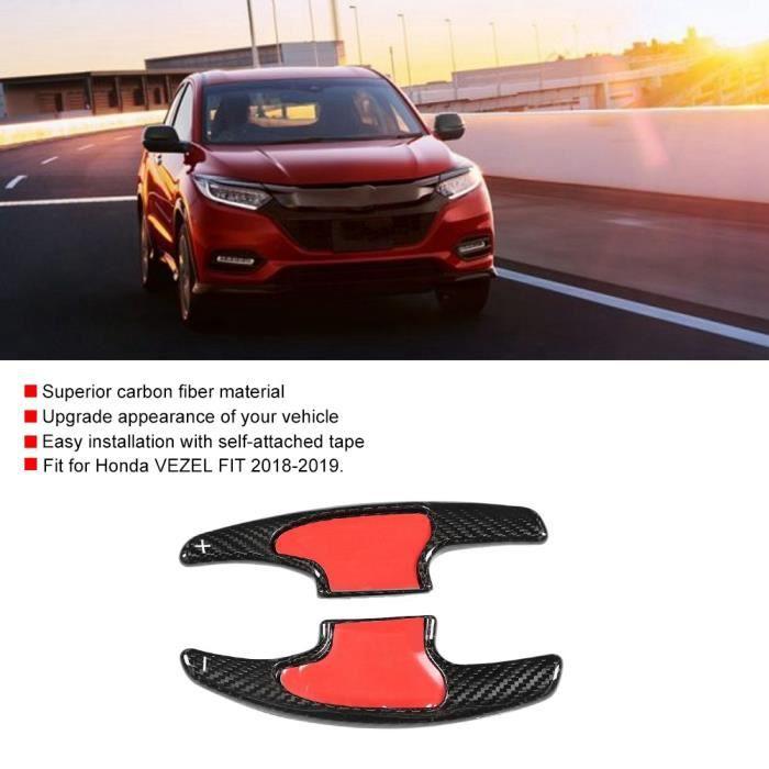 RIN 2Pcs Extension De Palette De Changement De Volant Pour Honda Vezel Fit 2018-2019